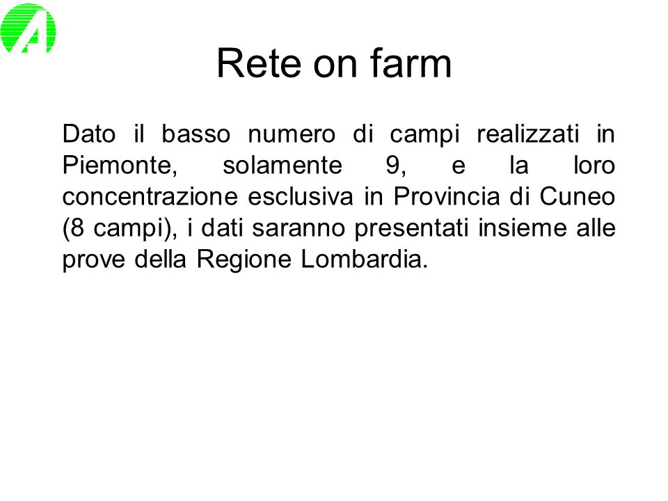Rete on farm