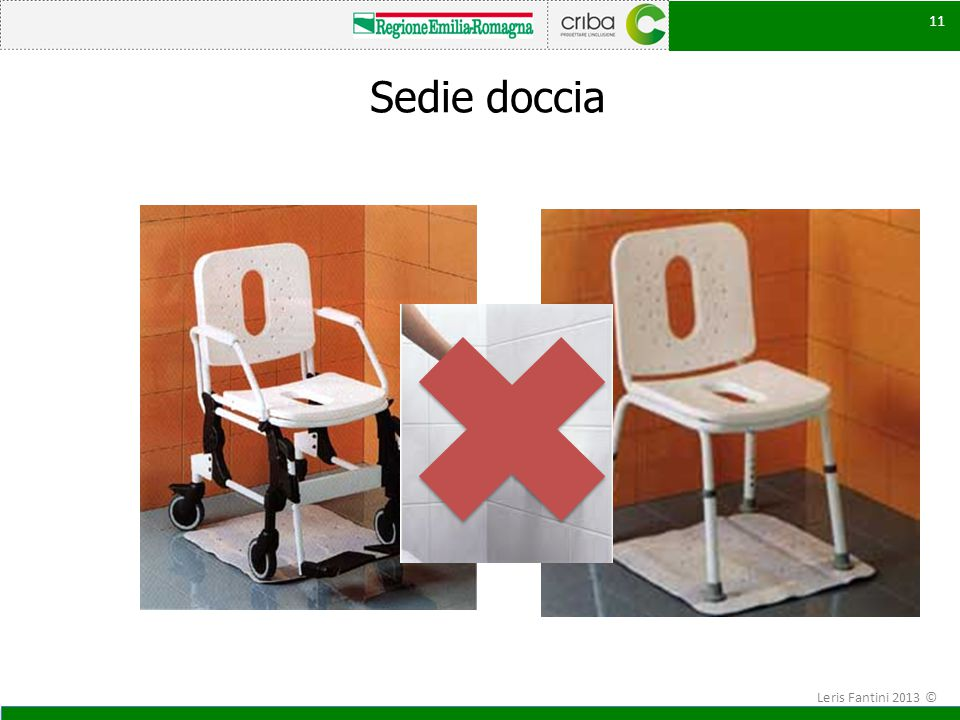 Sedie doccia Leris Fantini 2013 ©