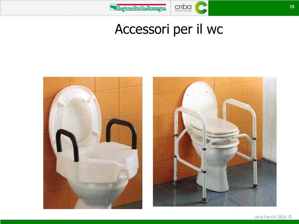 Accessori per il wc Leris Fantini 2014 ©