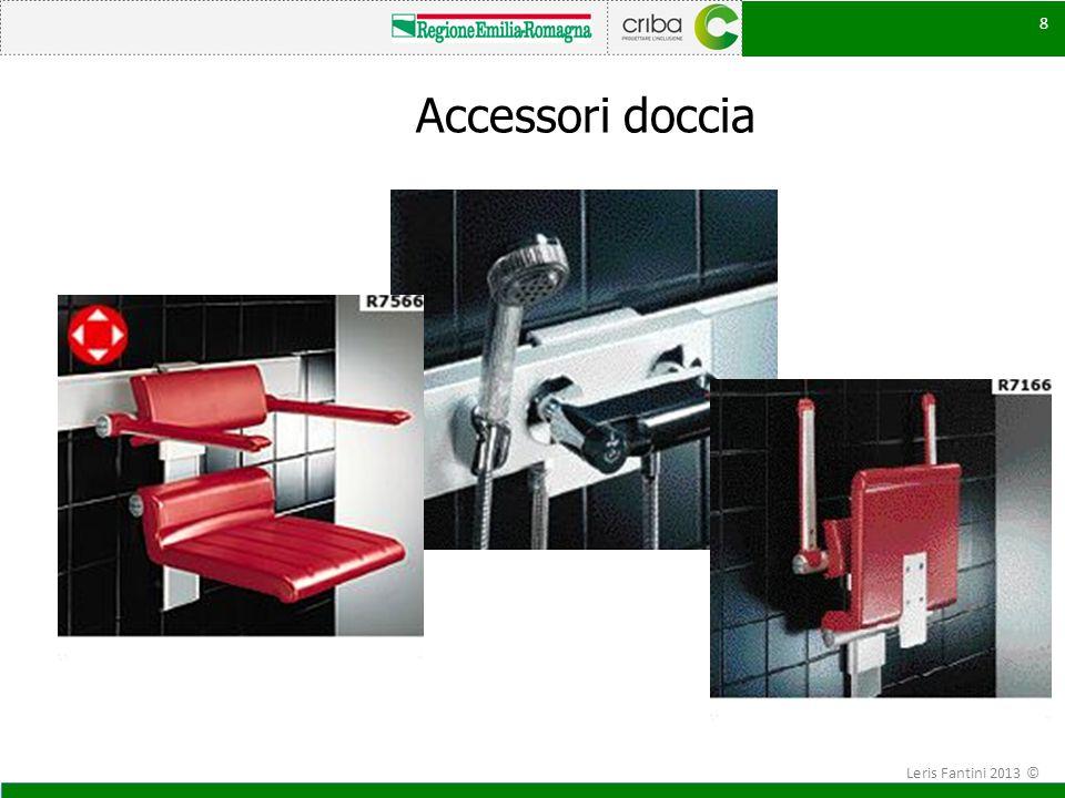 Accessori doccia Leris Fantini 2013 ©