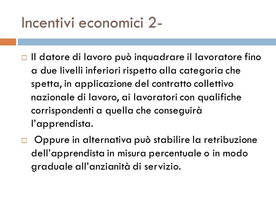 Incentivi economici 2-