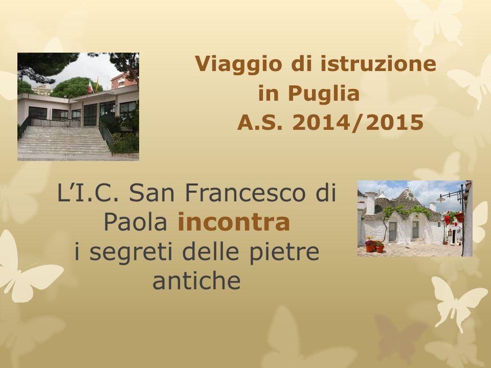 L'I.C. San Francesco di Paola incontra i segreti delle pietre antiche