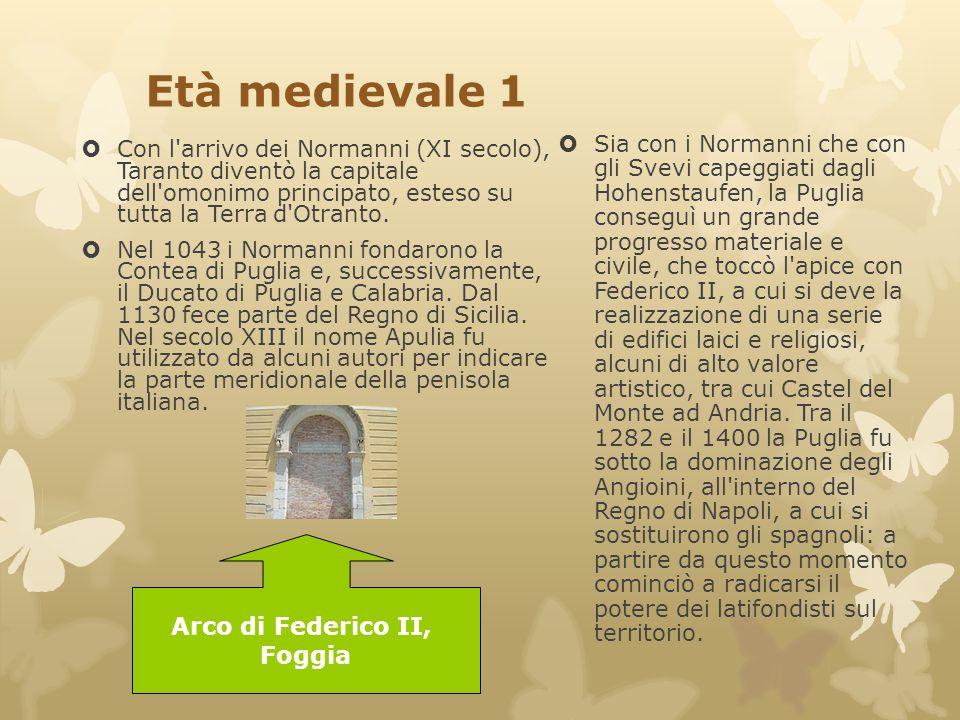 Età medievale 1 Arco di Federico II, Foggia