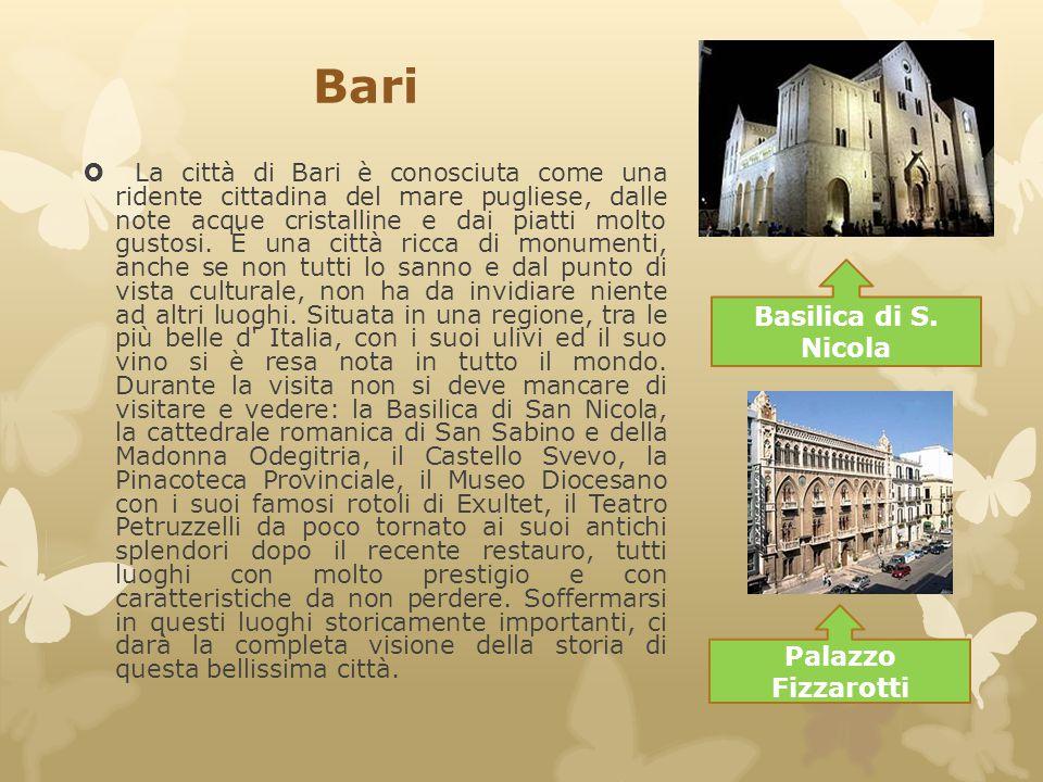 Bari Basilica di S. Nicola Palazzo Fizzarotti