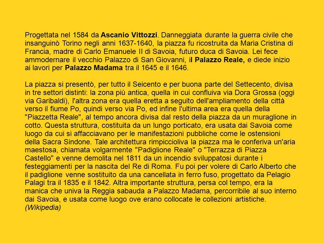 Torino barocca inserita per secoli nel perimetro a for Quotazione ferro vecchio in tempo reale