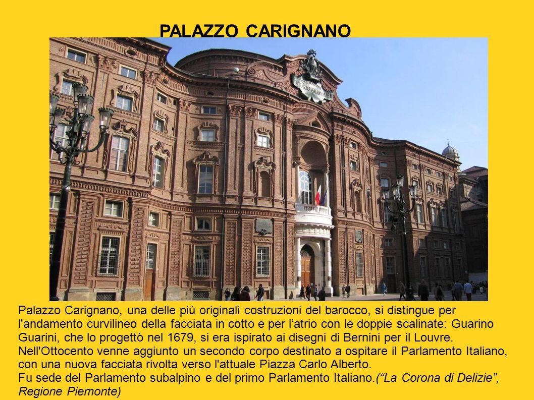 Torino barocca inserita per secoli nel perimetro a for Composizione del parlamento italiano oggi