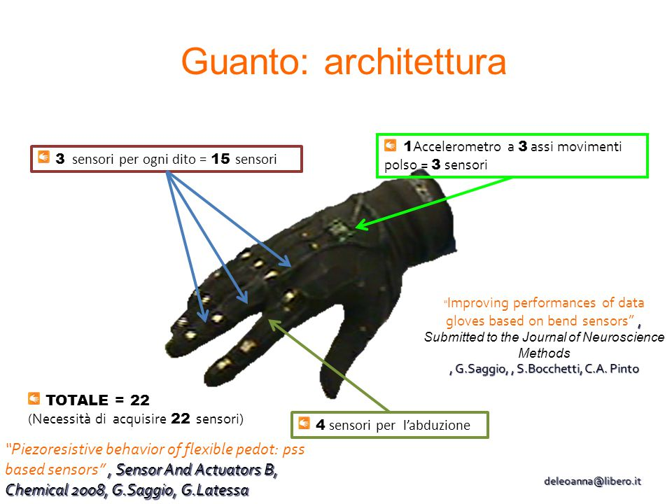 , G.Saggio, , S.Bocchetti, C.A. Pinto