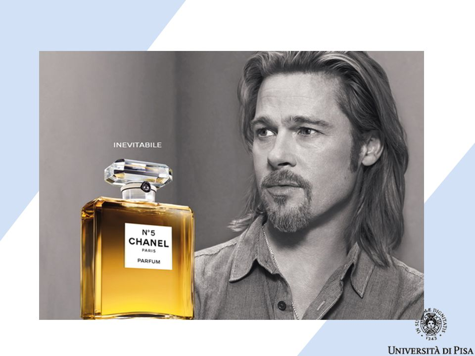 Associare chanel n.5 ad un sex symbol fa leva sulle emozioni di un pubblico femminile. Brad Pitt, parlando della sua collaborazione con Chanel, ha dichiarato:
