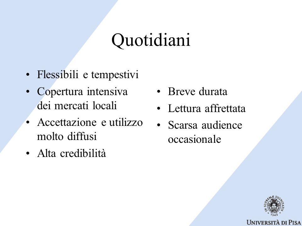 Quotidiani Flessibili e tempestivi