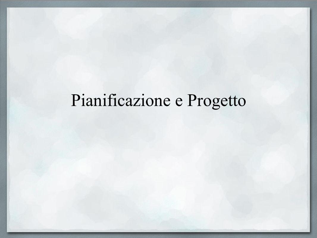 Pianificazione e Progetto