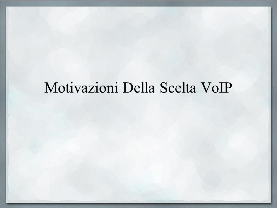Motivazioni Della Scelta VoIP