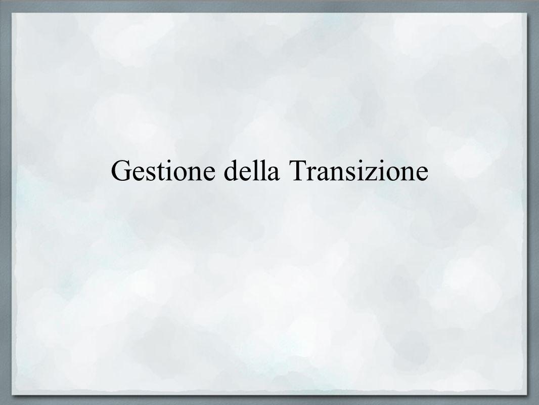 Gestione della Transizione
