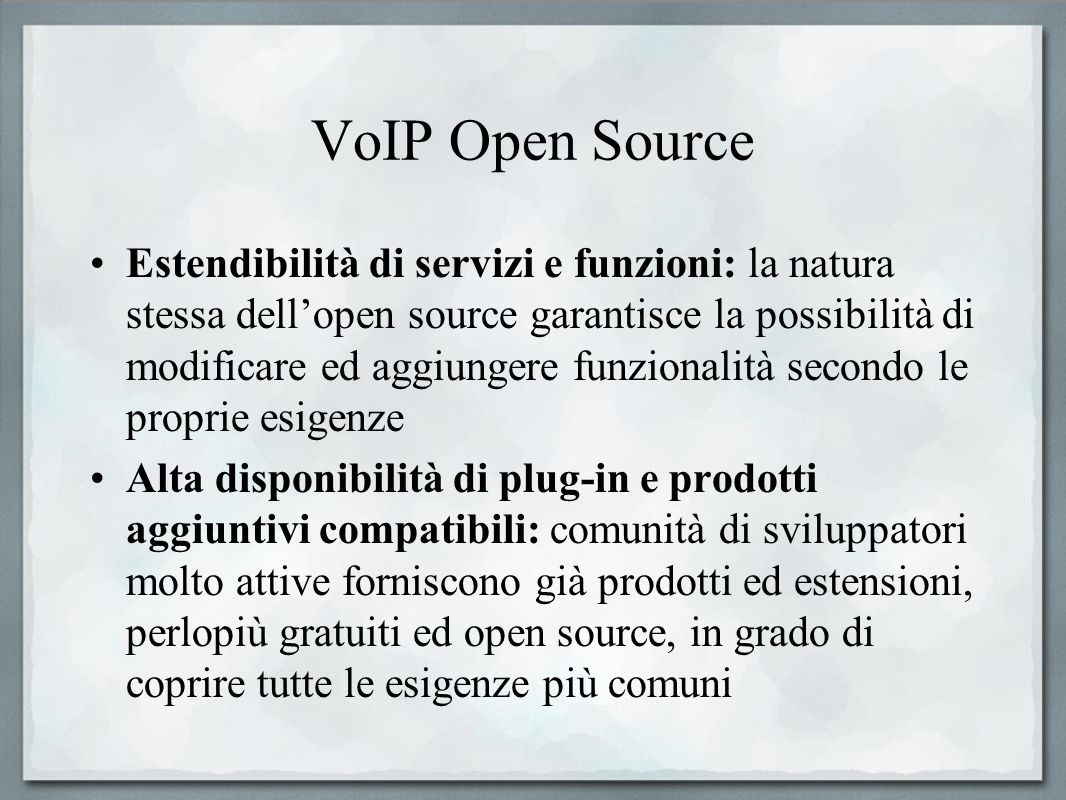 VoIP Open Source