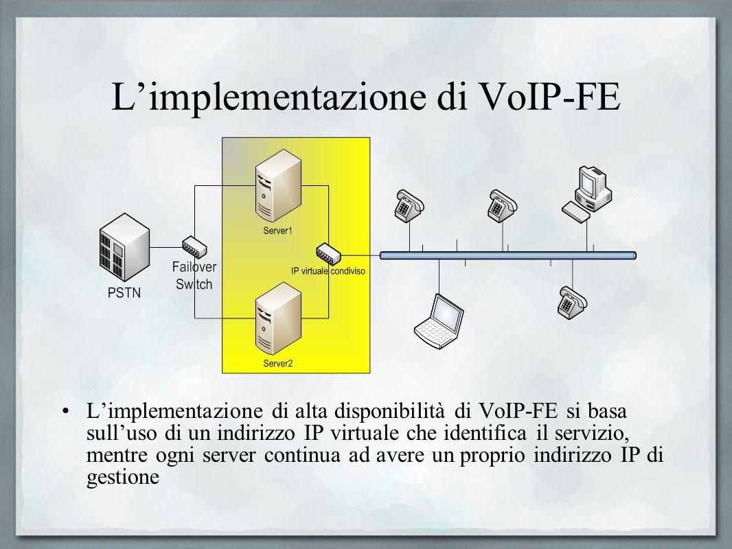 L'implementazione di VoIP-FE