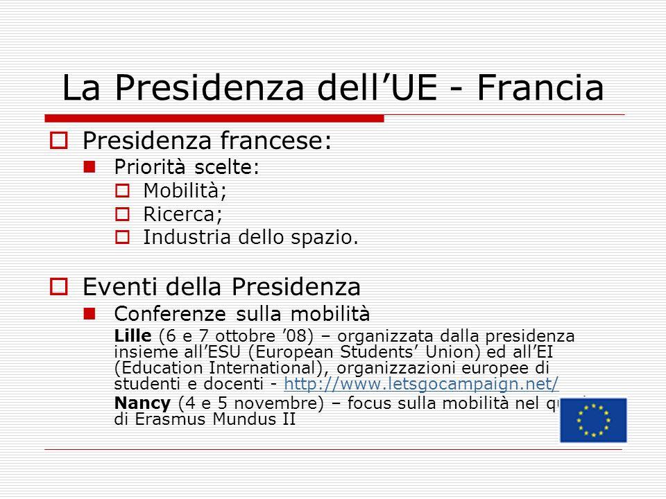 La Presidenza dell'UE - Francia