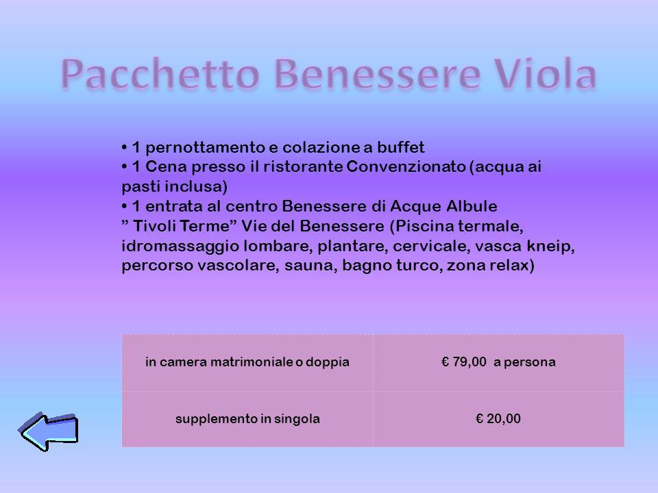 Pacchetto Benessere Viola