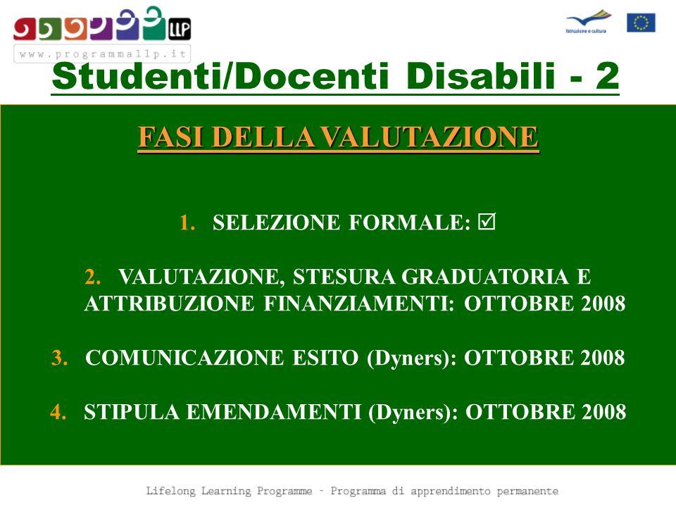 Studenti/Docenti Disabili - 2
