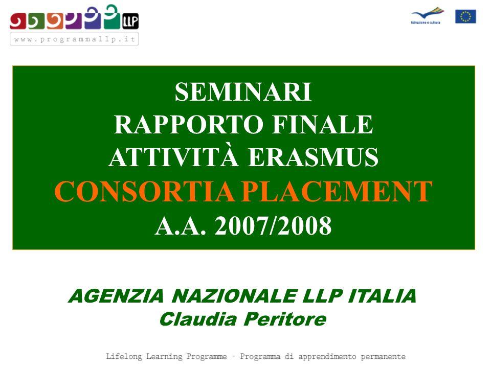 AGENZIA NAZIONALE LLP ITALIA