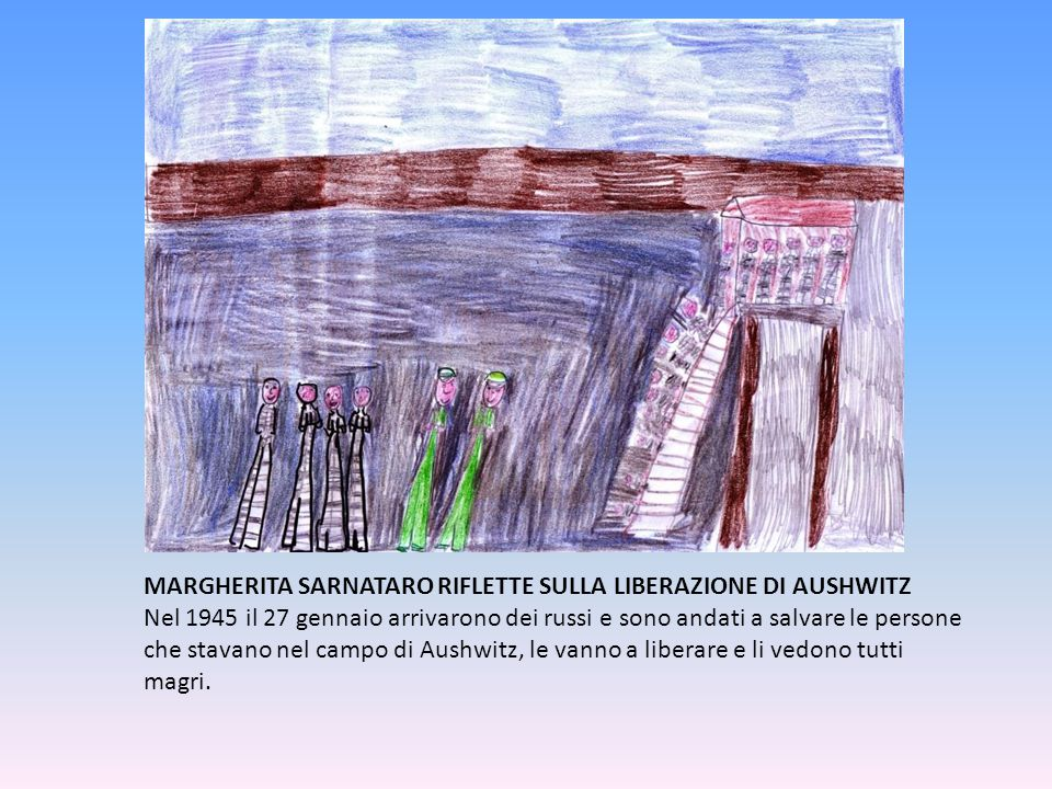 MARGHERITA SARNATARO RIFLETTE SULLA LIBERAZIONE DI AUSHWITZ