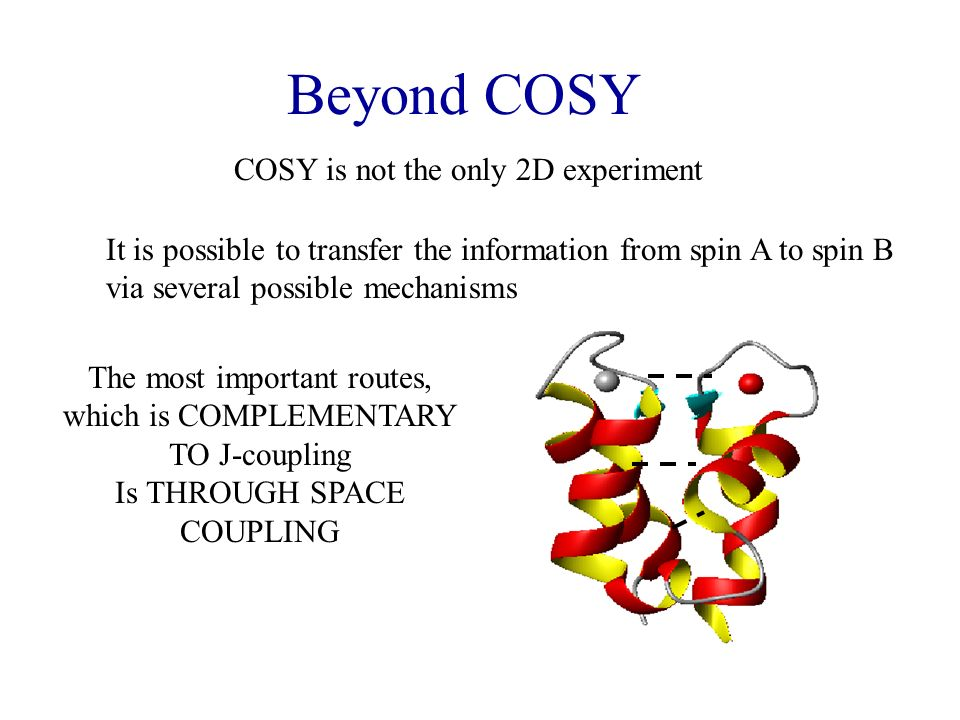 Beyond COSY COSY is not the only 2D experiment
