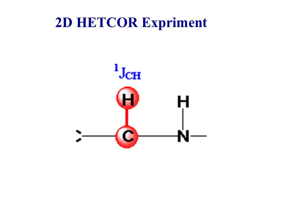 2D HETCOR Expriment