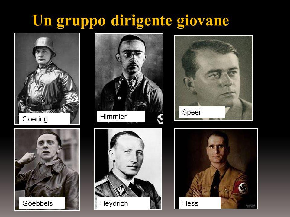 Un gruppo dirigente giovane