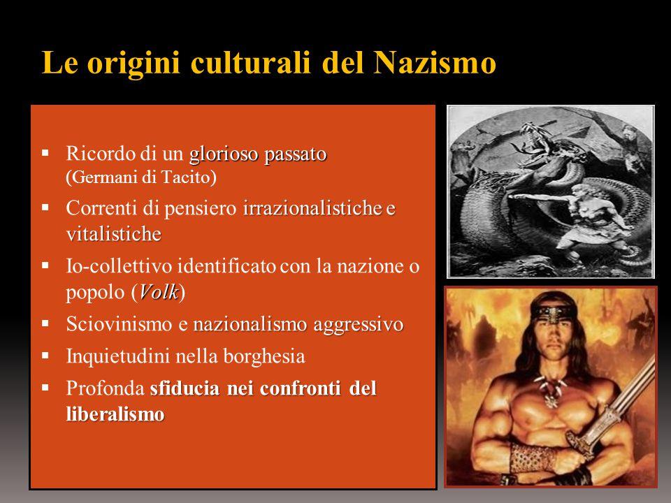 Le origini culturali del Nazismo
