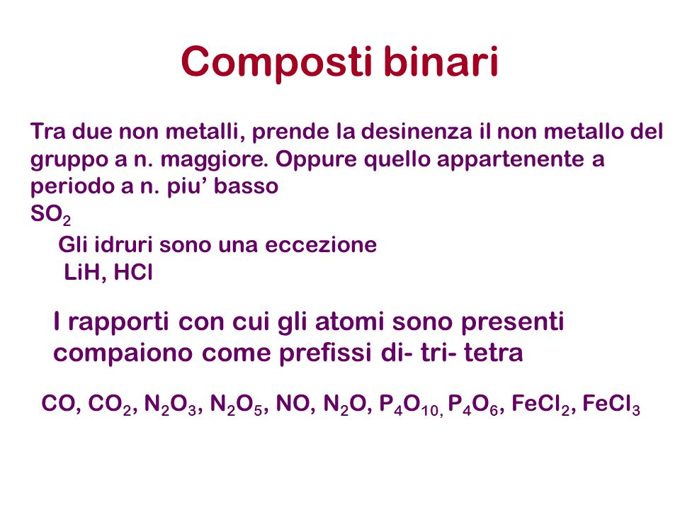 Composti binari