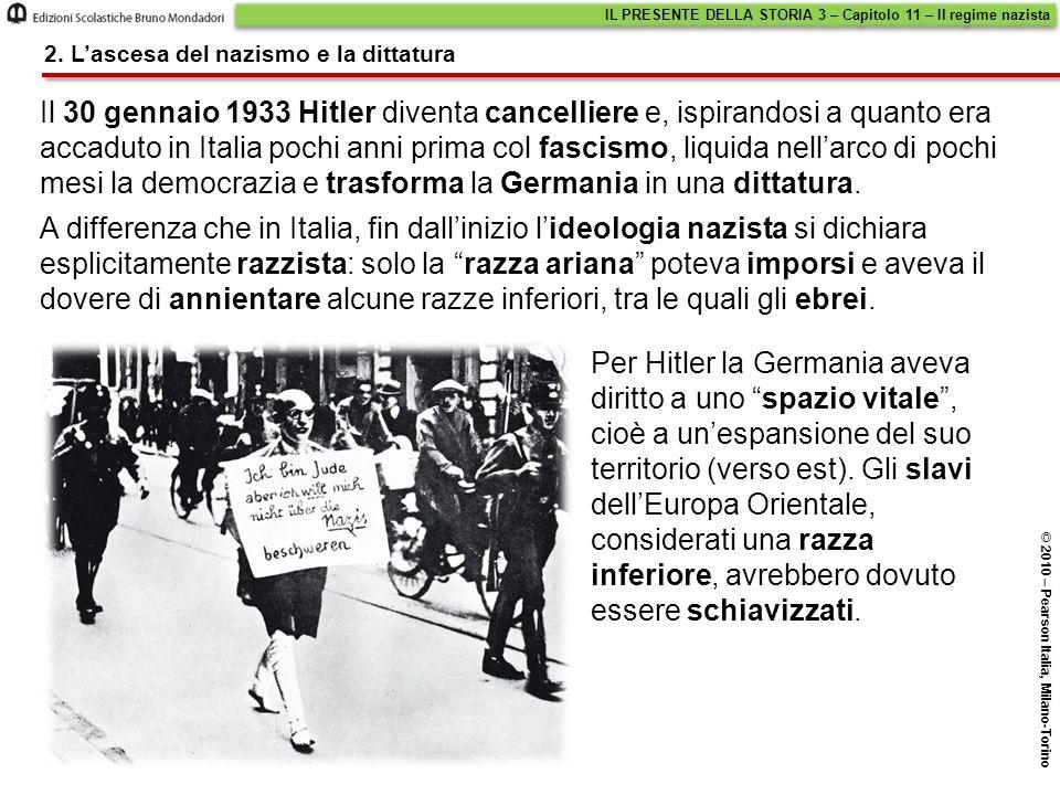 IL PRESENTE DELLA STORIA 3 – Capitolo 11 – Il regime nazista