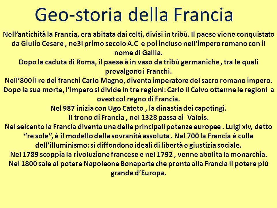 Geo-storia della Francia