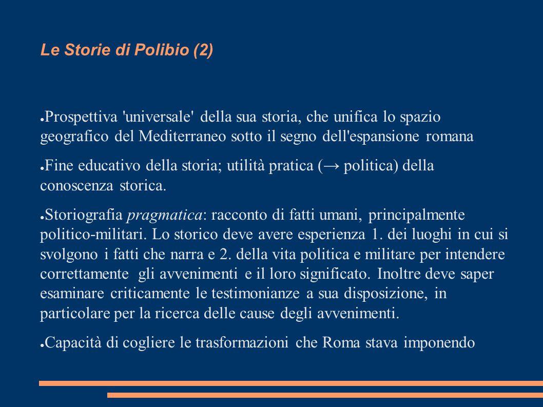 Le Storie di Polibio (2)