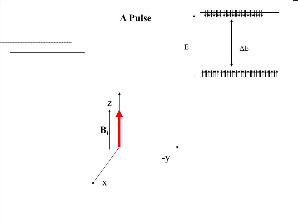 x -y z B0 A Pulse p x x -y z B0 A Pulse p x B1 x -y z B0 A Pulse p x