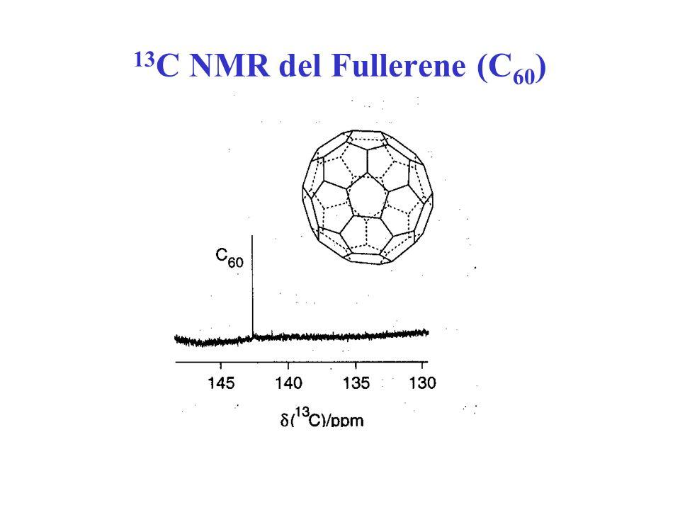 13C NMR del Fullerene (C60)