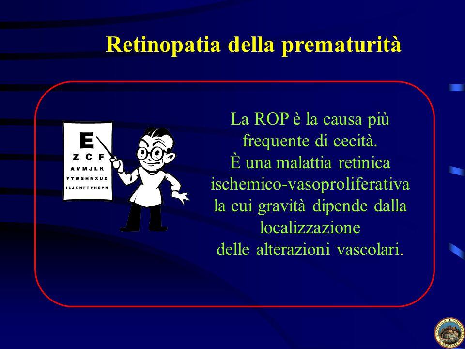 Retinopatia della prematurità