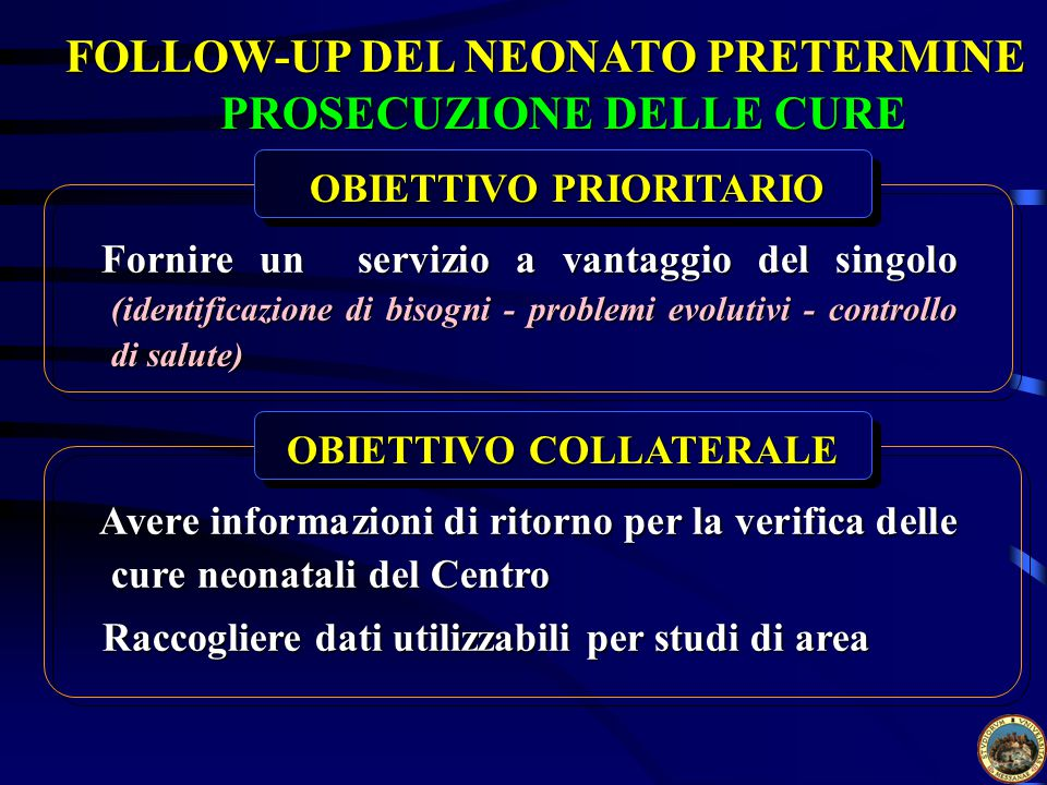 FOLLOW-UP DEL NEONATO PRETERMINE