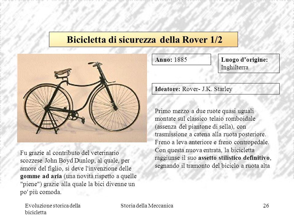 Bicicletta di sicurezza della Rover 1/2