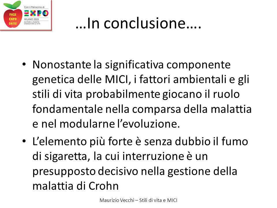 …In conclusione….