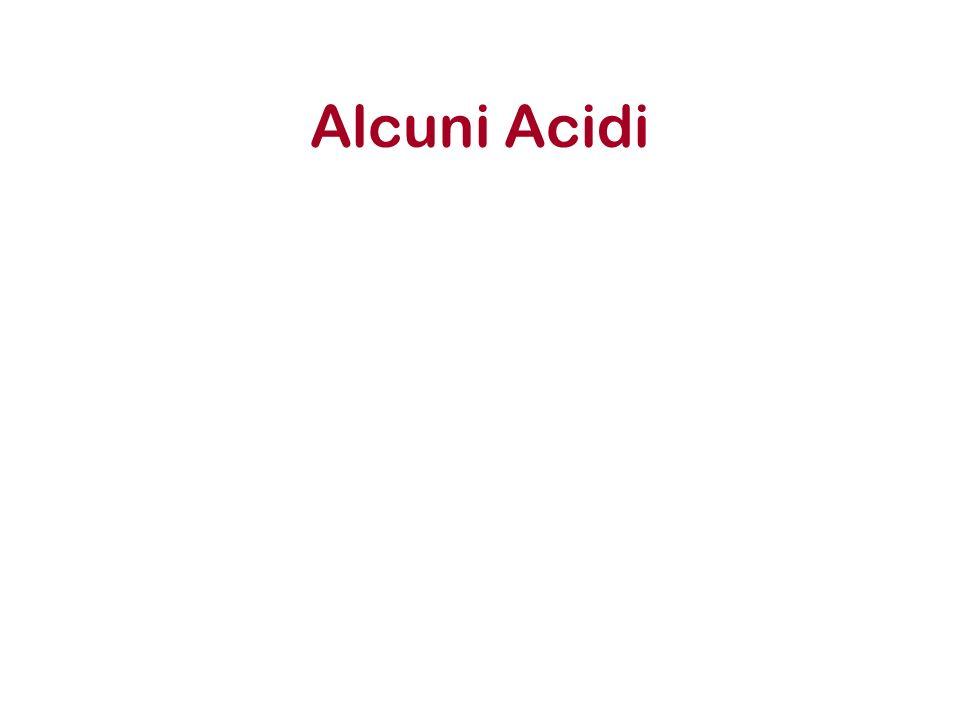 Alcuni Acidi