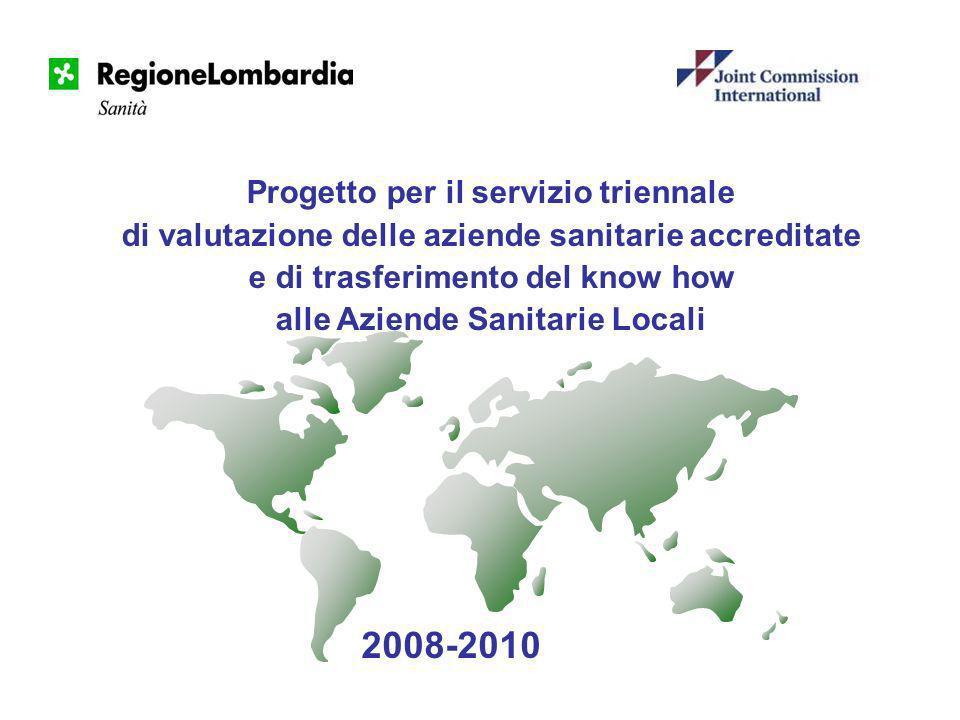2008-2010 Progetto per il servizio triennale