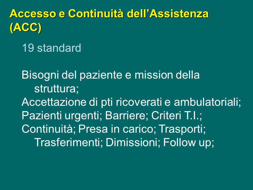 Accesso e Continuità dell'Assistenza (ACC)