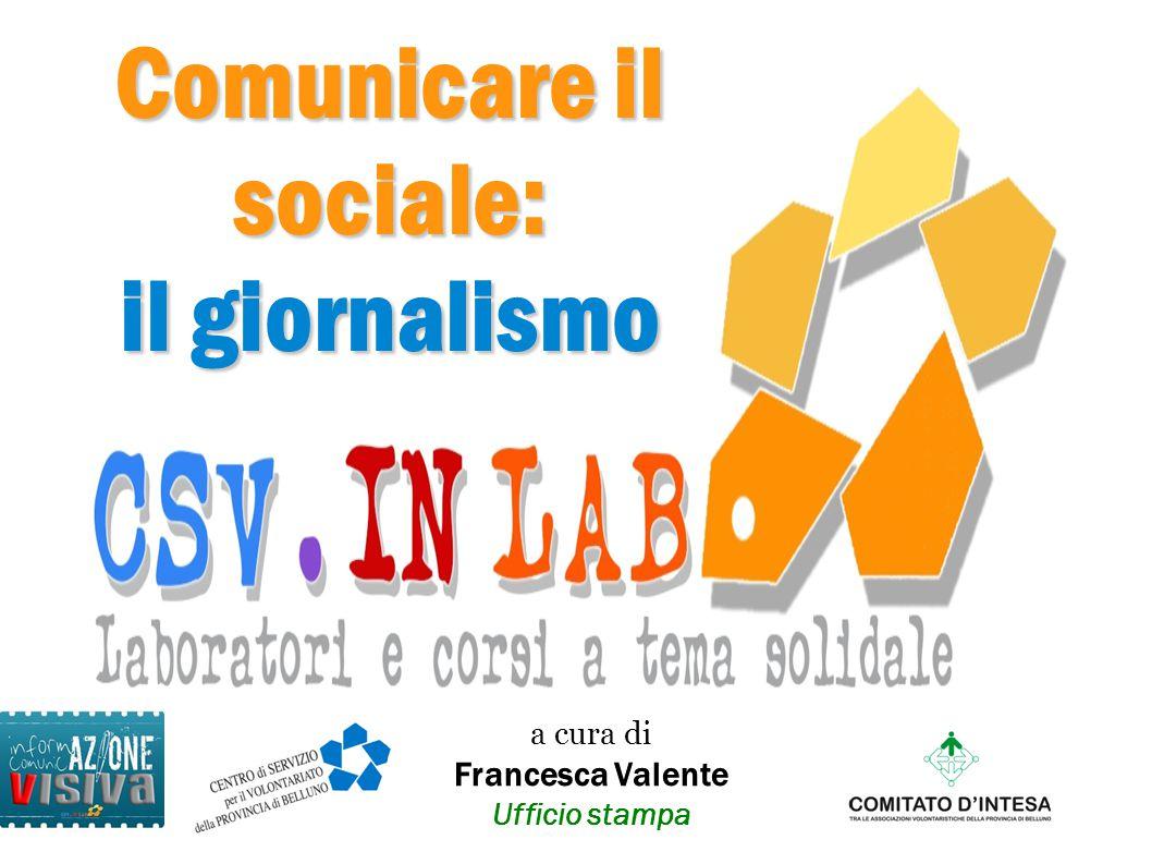 Comunicare il sociale: