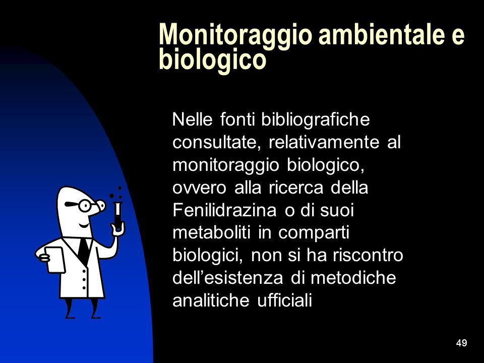 Monitoraggio ambientale e biologico