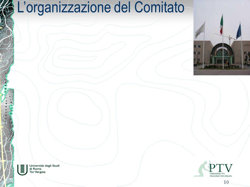 L'organizzazione del Comitato