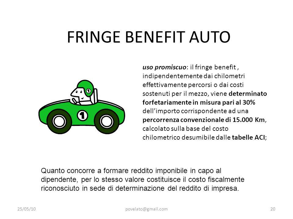 FRINGE BENEFIT AUTO