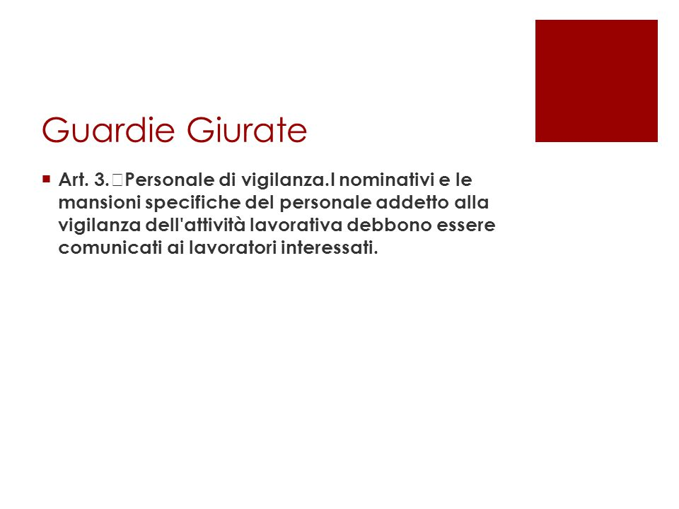 Guardie Giurate