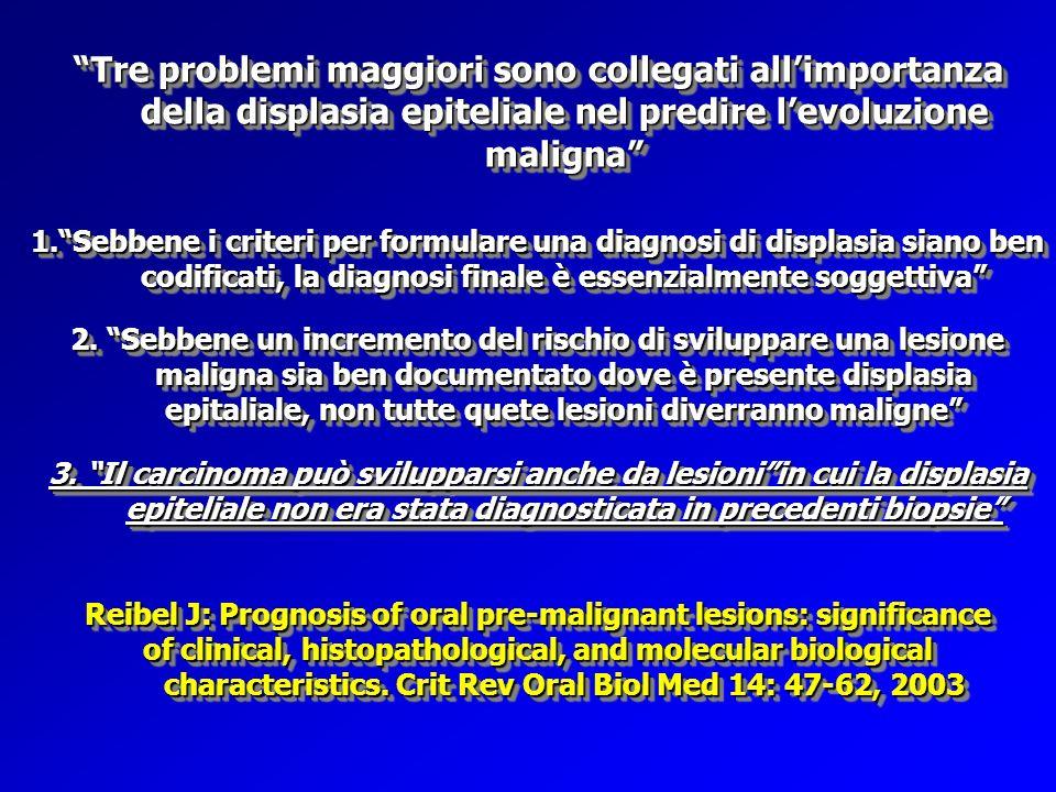 Reibel J: Prognosis of oral pre-malignant lesions: significance