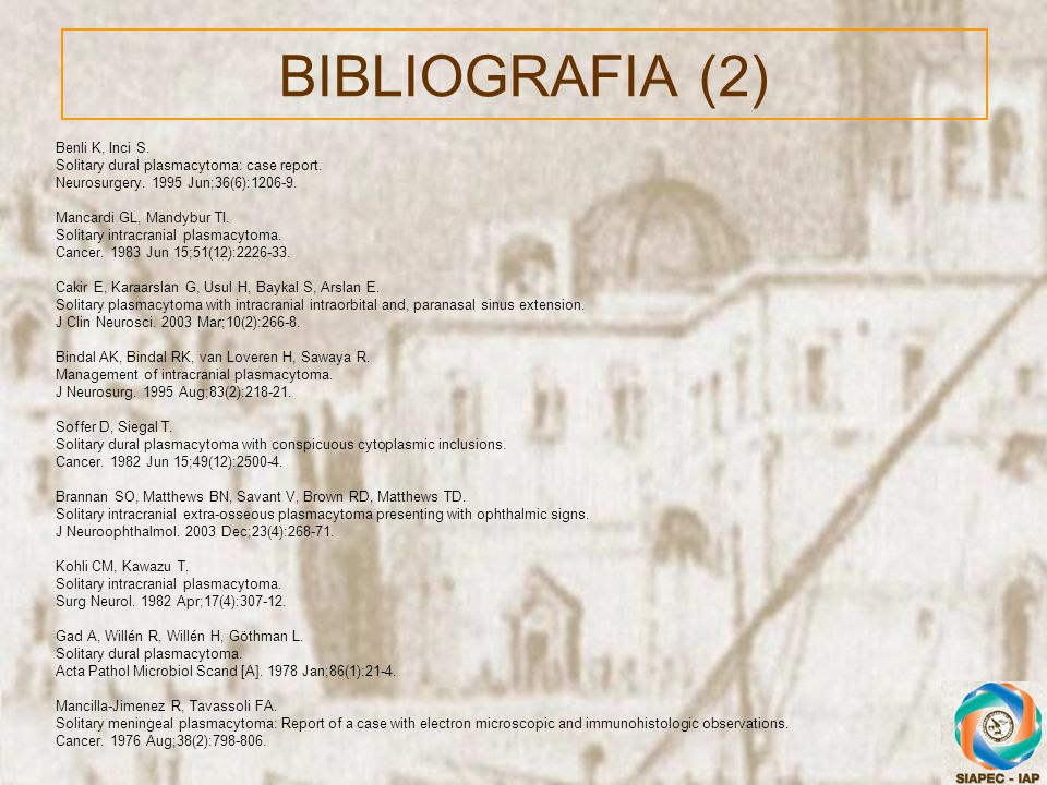 BIBLIOGRAFIA (2) Benli K, Inci S.