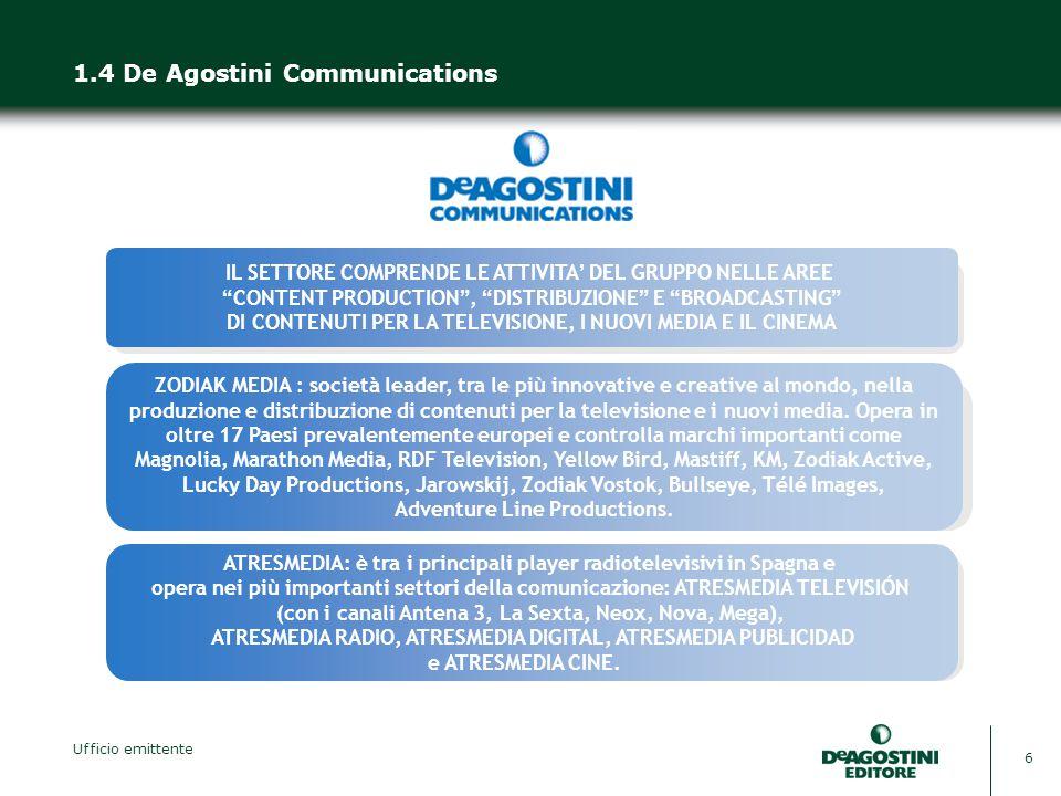 1.4 De Agostini Communications