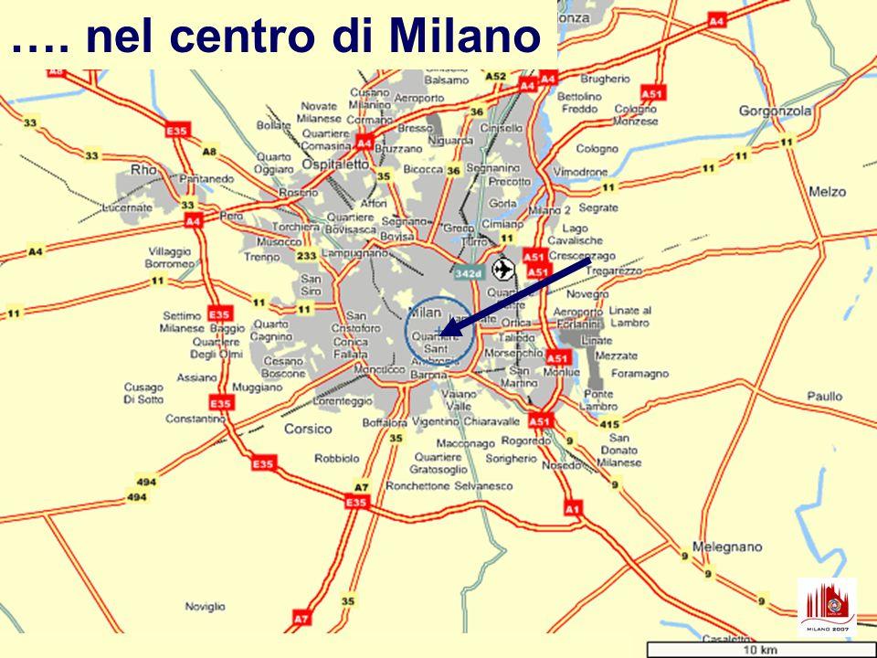 …. nel centro di Milano