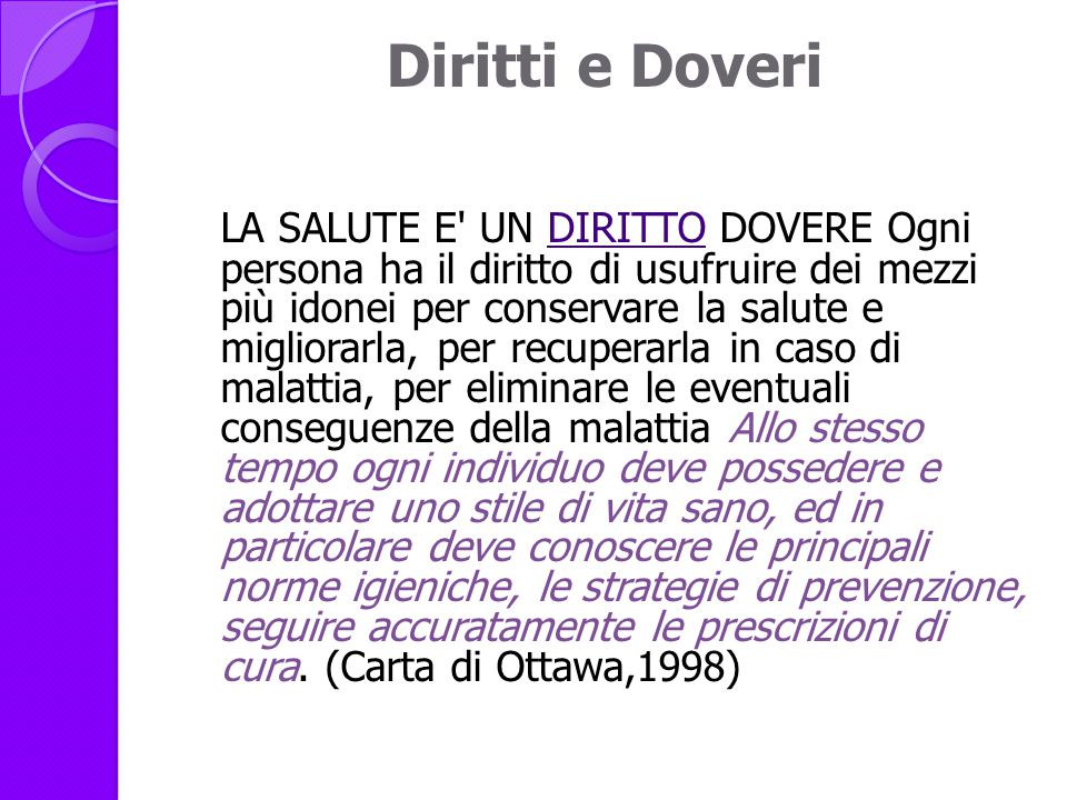 Diritti e Doveri